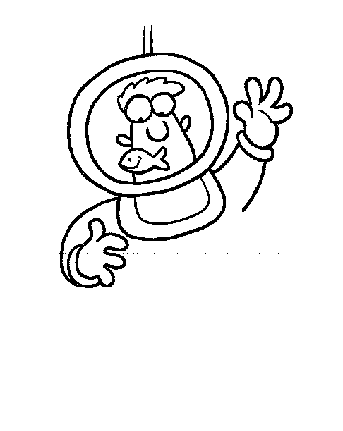 deep sea diver coloring page - pin deep sea diving coloring page on pinterest