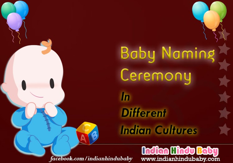 Baby naming ceremony indian cultures